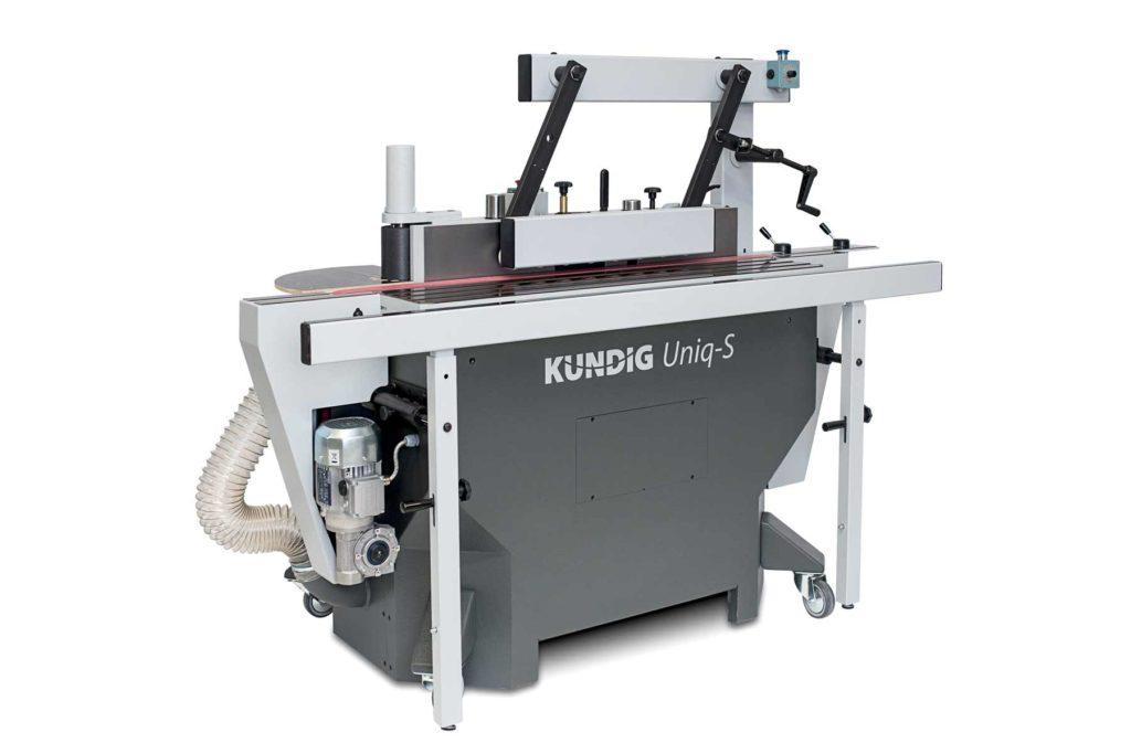 MW Machinery Kundig Uniq-S Lacquer Edge Sander